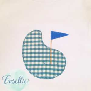 Golf green embroidery design, Golf embroidery design, Golf, Golf clubs, Vintage stitch embroidery design, Applique, Machine embroidery design, Blanket stitch, Beanstitch, Vintage