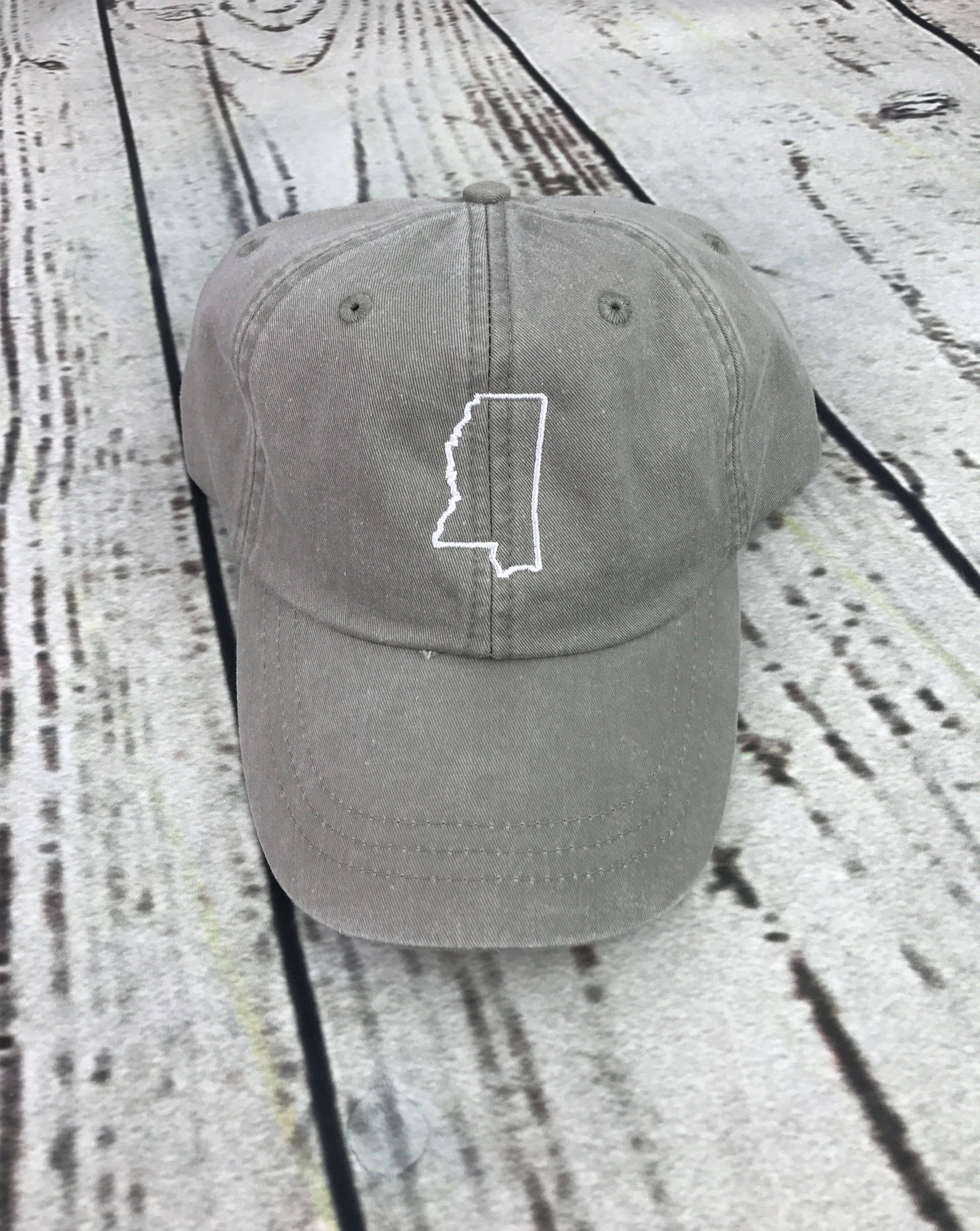 2164d11154429 ... new zealand mississippi baseball cap state outline d1629 52ffb