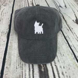 Westie baseball cap, Westie baseball hat, Westie hat, Westie cap, State of Westie, Personalized cap, Custom baseball cap, West highland terrier
