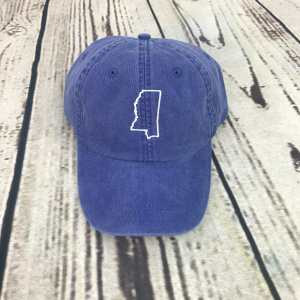 Mississippi baseball cap, Mississippi baseball hat, Mississippi hat, Mississippi cap, State of Mississippi, Personalized cap, Custom baseball cap