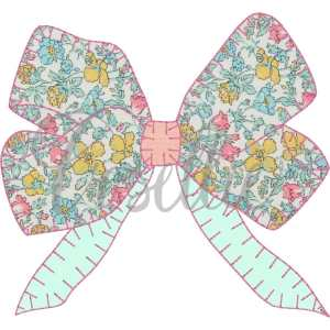 Bow applique embroidery design, Bow embroidery design, Girly bow, Girl, Applique bow, Vintage bow, Monogram, Vintage stitch embroidery design, Applique, Machine embroidery design, Blanket stitch, Beanstitch, Vintage