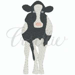 Mini dairy cow embroidery design, Mini cow, Cow, Farm animals, Farm, Barn, Chicken, Cow, Dairy cow, Milk cow, Sheep, Goat, Pig, Horse, Vintage, Build your own, Vintage stitch embroidery design, Applique, Machine embroidery design, Blanket stitch, Beanstitch, Vintage, Classic, Sketch