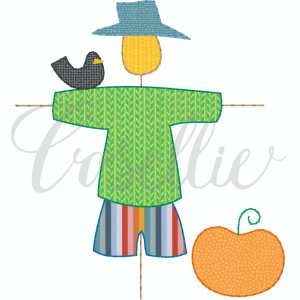 Scarecrow boy applique embroidery design, Simple applique, Boy scarecrow, Fall, Pumpkin, Crow, Thanksgiving embroidery design, Vintage stitch embroidery design, Applique, Machine embroidery design, Blanket stitch, Beanstitch, Vintage, Classic, Sketch