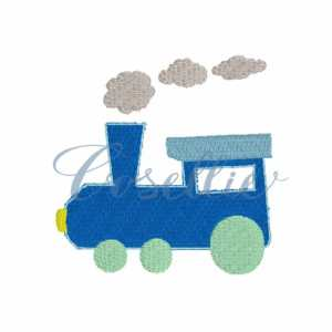Mini Train embroidery design, Vintage train, Valentines boy, Vintage stitch embroidery design, Applique, Machine embroidery design, Blanket stitch, Beanstitch, Vintage