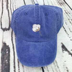 Cotton boll baseball cap, Cotton boll baseball hat, Cotton boll hat, Cotton boll cap, Personalized cap, Custom baseball cap