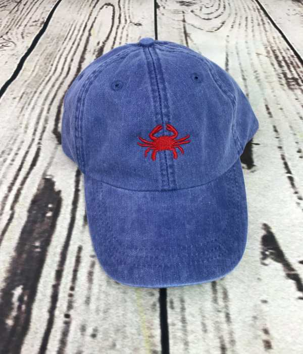 Crab baseball cap, Crab baseball hat, Crab hat, Crab cap, Personalized cap, Custom baseball cap