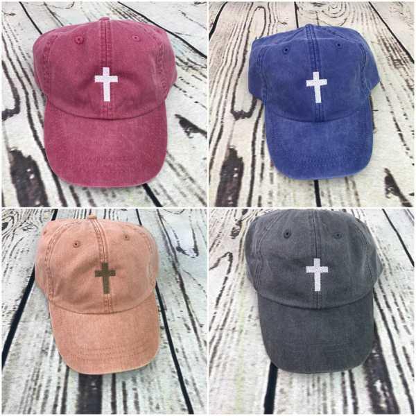 Cross baseball cap, Cross baseball hat, Cross hat, Cross cap, Personalized cap, Custom baseball cap
