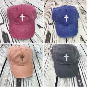 Cross baseball cap, Cross baseball hat, Cross hat, Cross cap, Personalized cap, Custom baseball cap