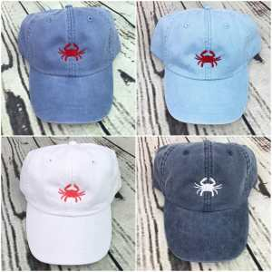 Crab baseball cap, Crab baseball hat, Crab hat, Crab cap, Personalized cap, Custom baseball cap