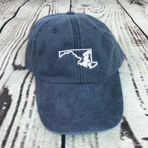 Maryland baseball cap, Maryland baseball hat, Maryland hat, Maryland cap, State of Maryland, Personalized cap, Custom baseball cap