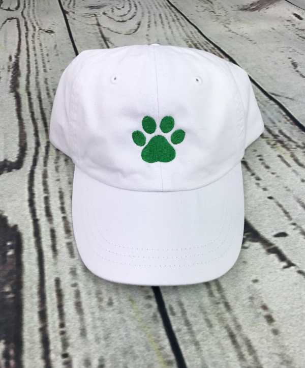 Paw print baseball cap, Paw print baseball hat, Paw print hat, Paw print cap, Personalized cap, Custom baseball cap, Dog paw print, Dog paw
