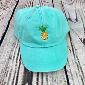 Pineapple baseball cap, Pineapple baseball hat, Pineapple hat, Pineapple cap, Personalized cap, Custom baseball cap, Beach baseball cap, Summer baseball cap, Spring break
