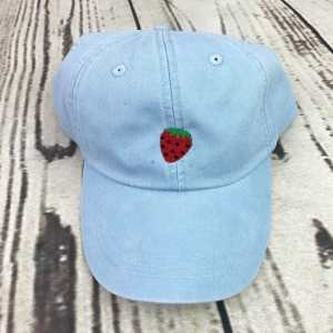 Strawberry baseball cap, Strawberry baseball hat, Strawberry hat, Strawberry cap, Personalized cap, Custom baseball cap, Beach baseball cap, Summer baseball cap, Spring break