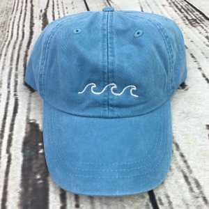 Waves baseball cap, Waves baseball hat, Waves hat, Waves cap, Personalized cap, Custom baseball cap, Beach baseball cap, Summer baseball cap, Spring break