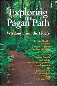 Book cover of Exploring the Pagan Path.
