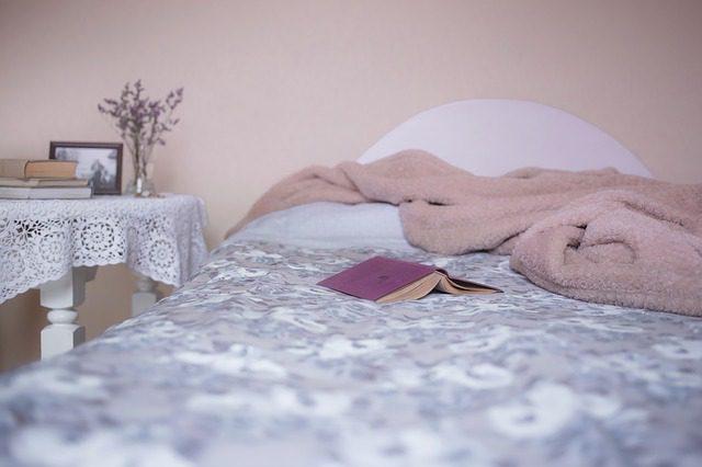 Bed. Sleep.