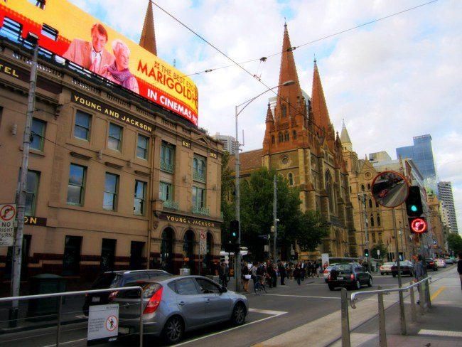 Flinders Street.