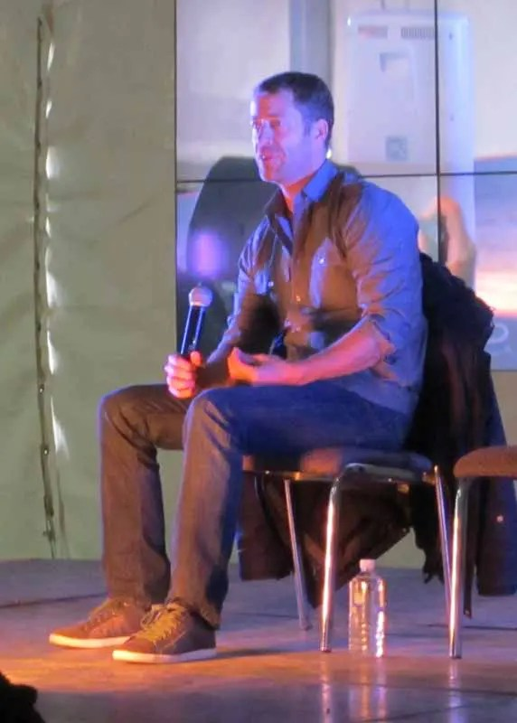 Actor Colin Ferguson from Eureka.