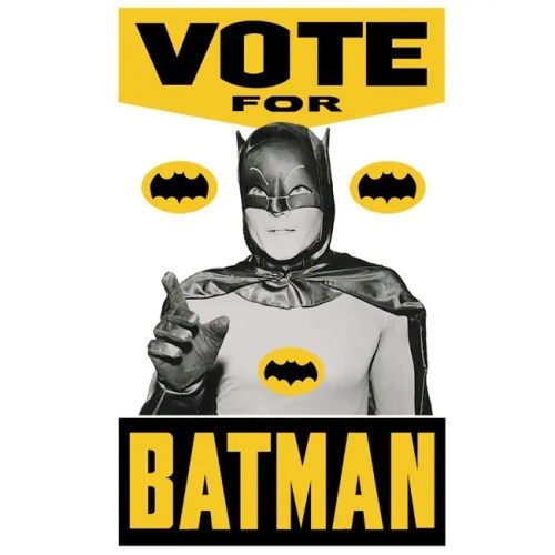 Vote for Batman poster.