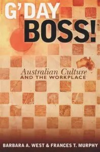 Australian Culture and the Workplace book cover.