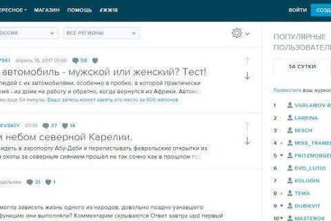 Blogging LiveJournal