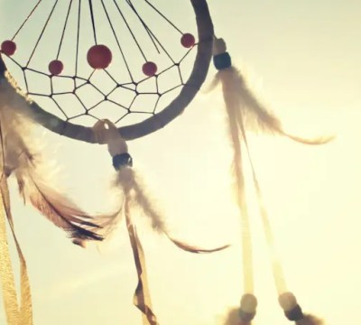 A Native American dreamcatcher. On cultural appropriation.