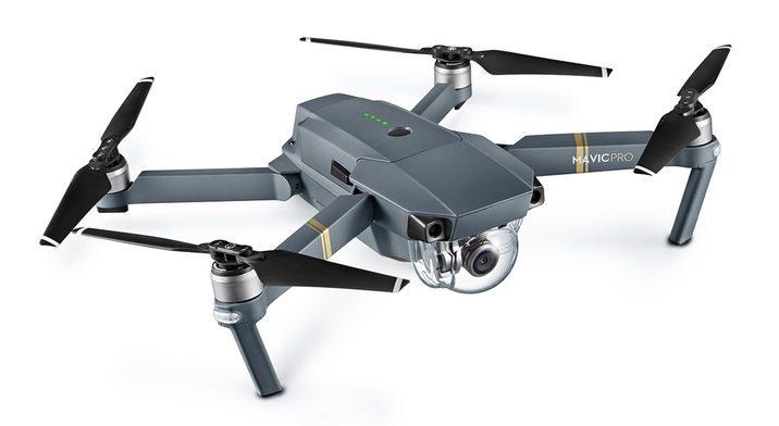 DJI Mavic Pro drone.