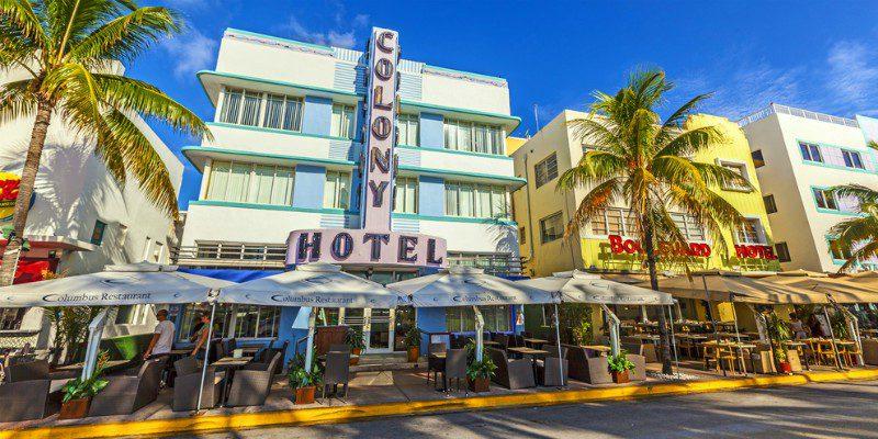 Miami Beach Art Deco District.