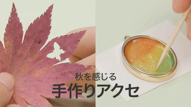 【クラフトパンチ】手作りの秋