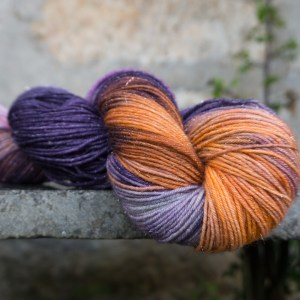 Sparkly shawl yarn