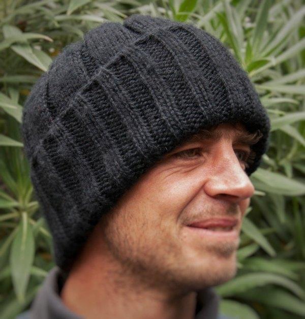 Pure Merino Wool Watch Cap / Fishermens Hat