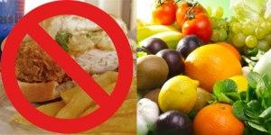 Alternarea alimentatiei sanatoase cu cea nesanatoasa este daunatoare pentru organism