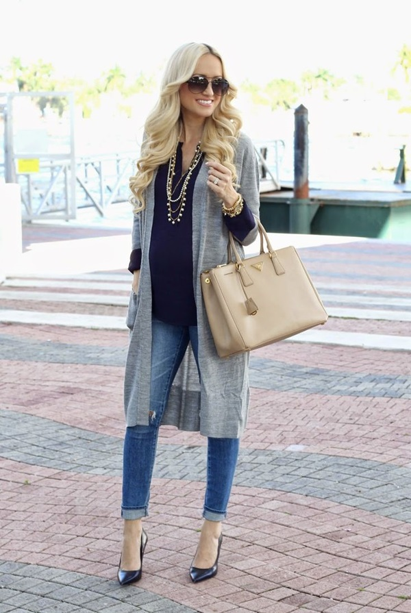 Stylish-Chic-Long-Cardigan-Outfits-For-Ladies-11