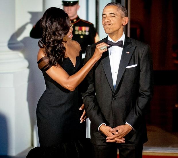 Michelle Obama face dezvaluiri socante: Barack a purtat acelasi smoking timp de 8 ani