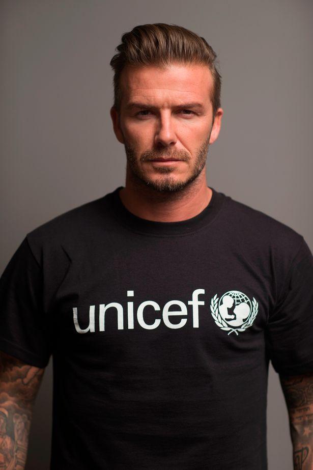 David Beckham se dezbracă pentru o cauză nobilă