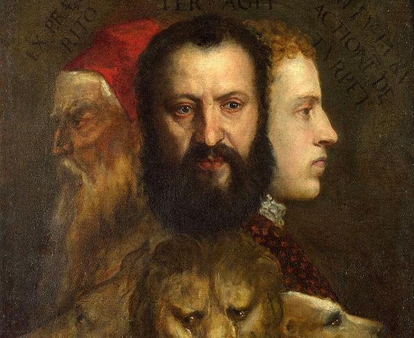 Alegoría de la Prudencia, Tiziano