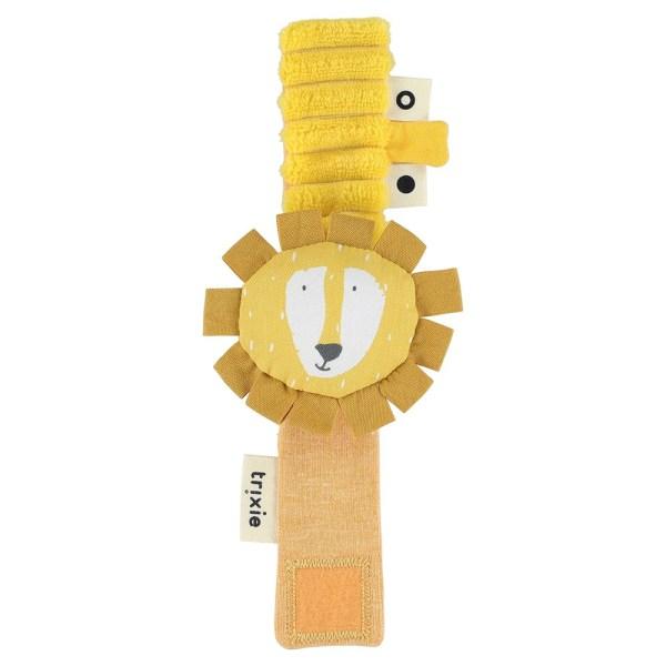 Sonajero de muñeca Mr. Lion - Sr. León pulsera sonajero para bebé - Trixie