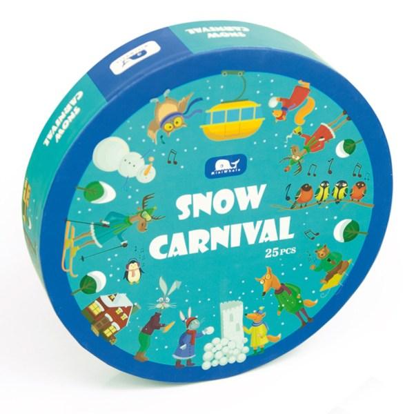 Puzzle de 'carnival de nieve' - New Selection