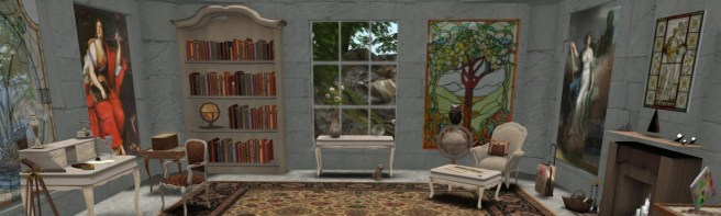 Athena's Office in SL