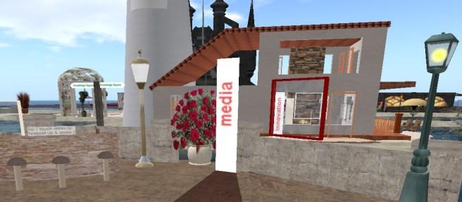 Media Spot, Media Courtyard