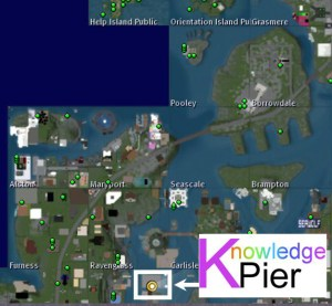 Knowledge Pier Map