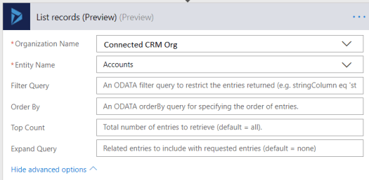 Understanding the Expand Query in the Dynamics 365 List Records