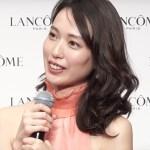 戸田恵梨香、30代は「楽しみ」 自身のスキンケアも明かす 「2018 ランコム ミューズ就任記者発表会」2