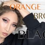 黒アイシャドウメイク|Black eyeshadow Makeup Tutorial