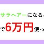 【ヘアケア】2日間で6万円を使ってサラサラヘアーを手に入れました