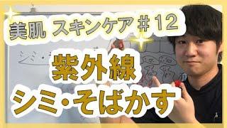【美肌 スキンケア】#12 紫外線 シミ・そばかすになる理由