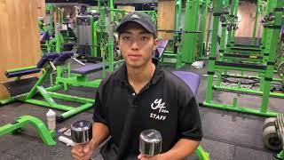 麻布十番 パーソナルトレーニング 背中 ダイエット 健康 腕トレ インクラインアームカール