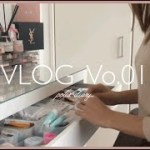 【Vlog】28歳OLのとある休日。韓国コスメ/ネイル・美容室/無印良品 購入品/簡単 韓国料理