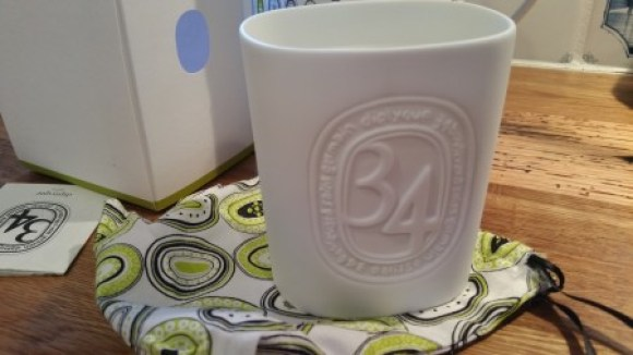34 Boulevard Saint Germain candle from Diptyque
