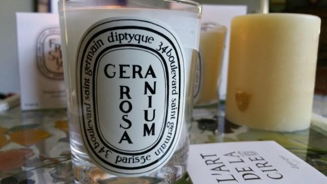 Diptyque Geranium Rosa Candle
